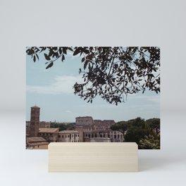 rome cityscape Mini Art Print