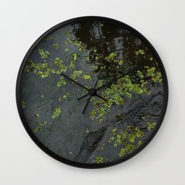 Its just a little croc! (new orleans) Wall Clock