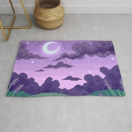 Lavender Nights Rug