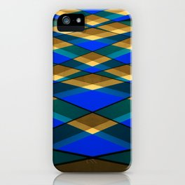 Geometrical architecture lines iPhone Case
