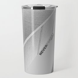 September 11 Tribute - Never Forget - World Trade Center Travel Mug