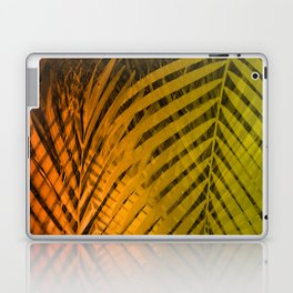 TROPICAL LEAVES GREEN MOCCA no2 Laptop & iPad Skin