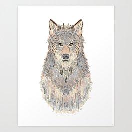 Wolven Way Art Print