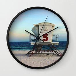 lifegaurd #5 Wall Clock