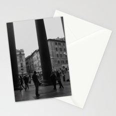 view from the pantheon Stationery Cards