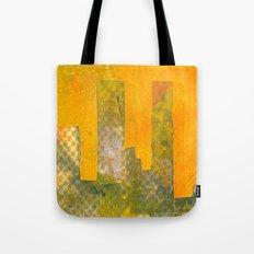 Yellow City Tote Bag
