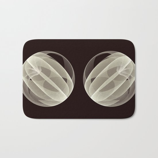 Modern Magic 3D Sphere Bath Mat