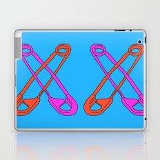 Safety Pin Me Down Laptop & iPad Skin