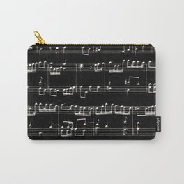 Nota Bene (black) Carry-All Pouch