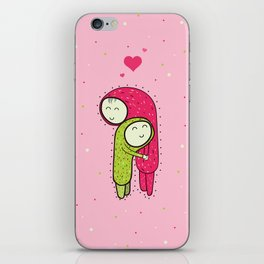 Huggy Huggers iPhone Skin