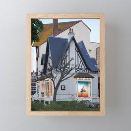 Deauville 2 Framed Mini Art Print