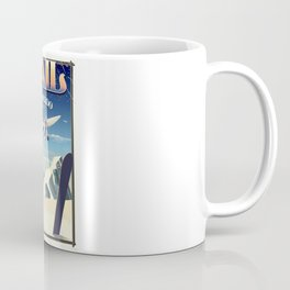 Vail Colorado vintage travel poste Coffee Mug