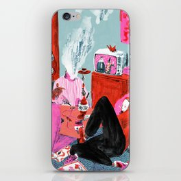 Bums (Lost Time) iPhone Skin
