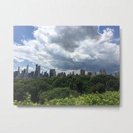 Central Park Skyline Metal Print