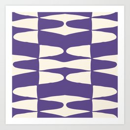 Zaha Ultra Violet Art Print