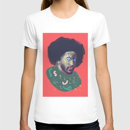 Brave Colin, POP art style, digitally painted portrait T-shirt