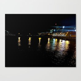 NJ Water Front Canvas Print