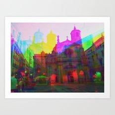 Multiplicitous extrapolatable characterization. 04 Art Print