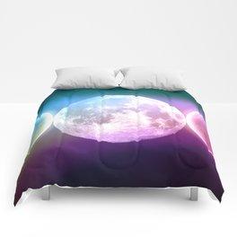 Moon Triple Goddess Rainbow Comforters