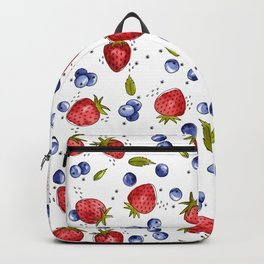 Strawberry, Blueberry, Mint Backpack