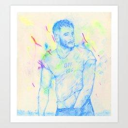 Boys: Off you Art Print