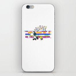 Snoopy Woodstock Peanuts iPhone Skin