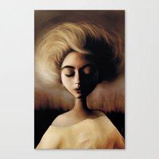 Sleepin' Canvas Print