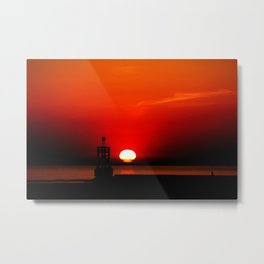 Another Sunset Metal Print
