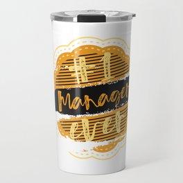 Manager Number One Travel Mug