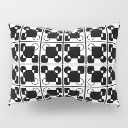 BW-pattern 2 Pillow Sham