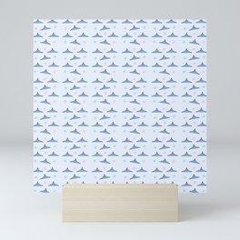 Flying saucer 6 Mini Art Print