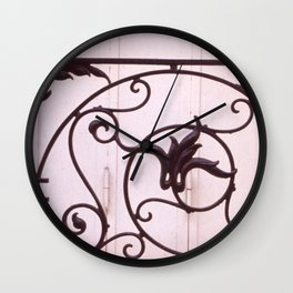 WILSON WROUGHT Wall Clock