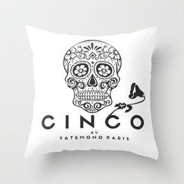 Cinco by Tatemono Paris Throw Pillow