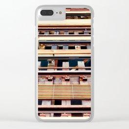 Railway tracks Clear iPhone Case