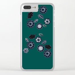 Forest Green not Forest Gump Clear iPhone Case