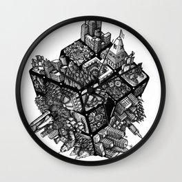 Rubik's World Wall Clock