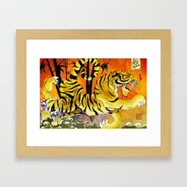 Tiger River Framed Art Print