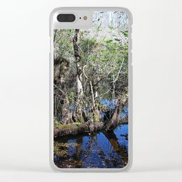 Never a Sound Clear iPhone Case