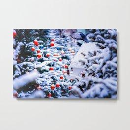 Christmas Idyll Metal Print