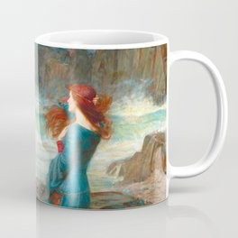 "John William Waterhouse ""Miranda - The tempest"" Coffee Mug"