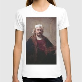 Rembrandt - Self Portrait with Two Circles T-shirt