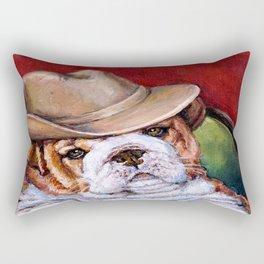 Gambler # 2 Rectangular Pillow