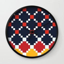 Lat Prime Wall Clock
