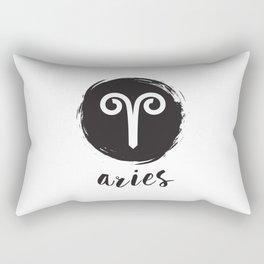 Aries Sign Rectangular Pillow