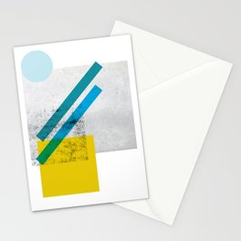 LOLA_1 abstract landscape Stationery Cards