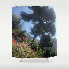Summer Haze in Eze Shower Curtain