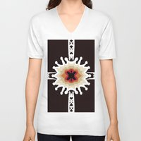 gift card V-neck T-shirts featuring A Gift for You by barefoot art online