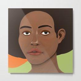 Binyelum, ´Stay with me´ in Nigerian Metal Print