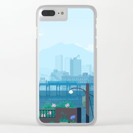 Seattle Morning Clear iPhone Case