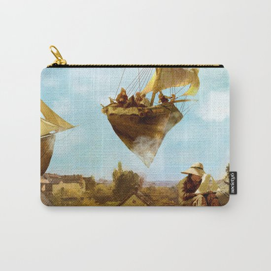 Sky Fishermen Carry-All Pouch